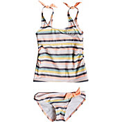 Roxy Girls' Lets Go Surfing Tankini Set