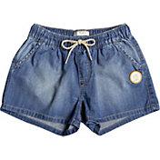 Roxy Girls' Honey Sunday Denim Shorts
