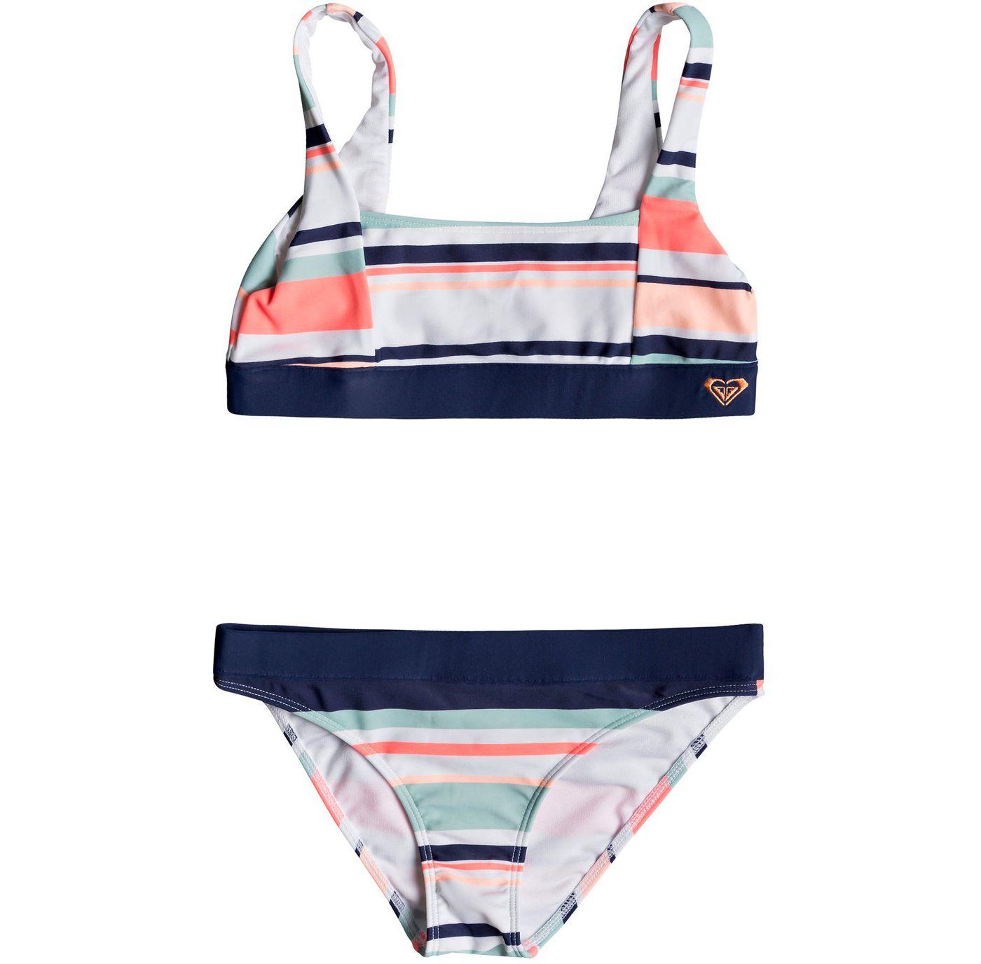 Roxy Girls' Happy Spring Bikini Set