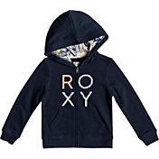 Roxy Girls' Make It Easy Full Zip Hoodie
