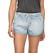 Roxy Women's Music Never Stops Denim Shorts