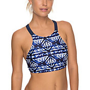 Roxy Women's Fitness Bikini Crop Top