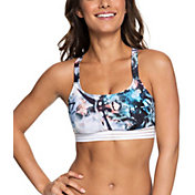 Roxy Women's Fitness Sports Bikini Top