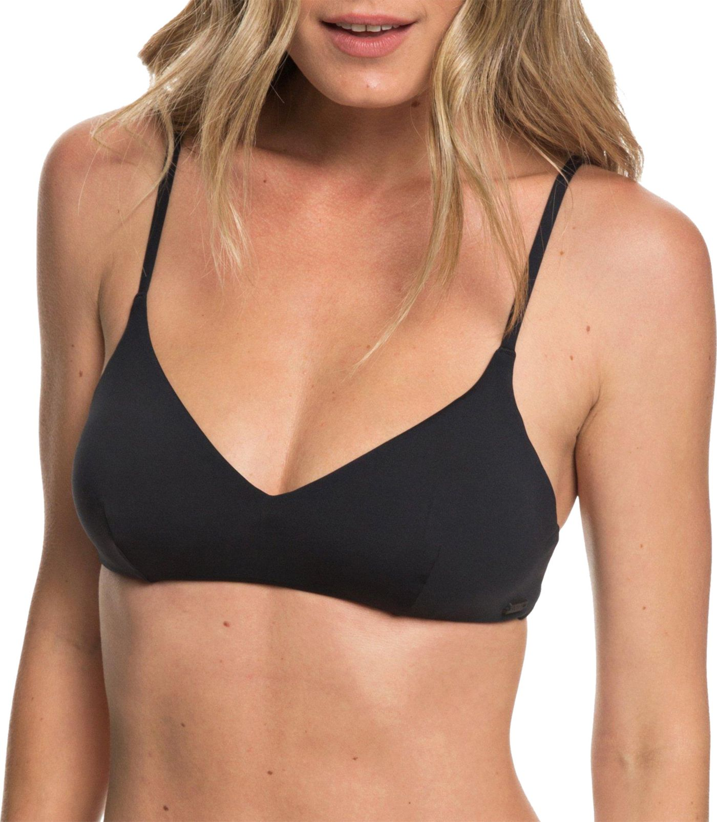 Roxy Women's Beach Classics Athletic Triangle Bikini Top