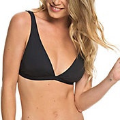 Roxy Women's Softly Love Elongated Tri Bikini Top