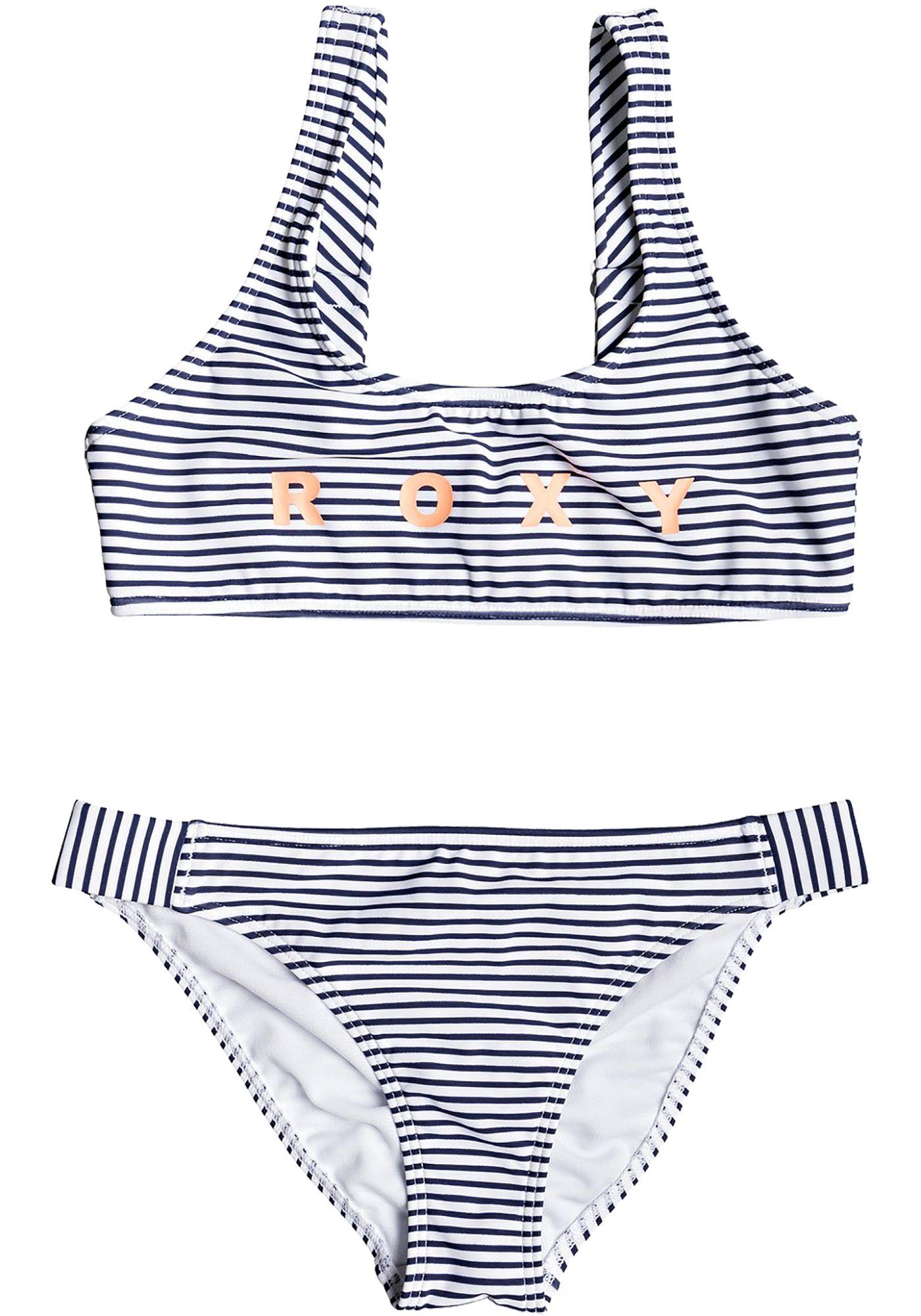 Roxy Girls' Surfing Free Sports Bra Bikini Set