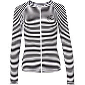 Roxy Women's Essentials Long Sleeve Zippered Rash Guard