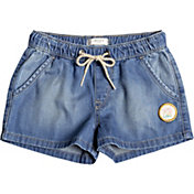 Roxy Girls' Timeless Denim Shorts