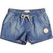 Roxy Girls' Timeless Denim Shorts