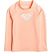 Roxy Girls' Whole Hearted Long Sleeve Rash Guard