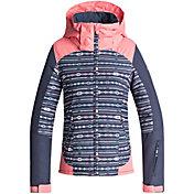 Roxy Girl's 7-14 Sassy Snow Jacket