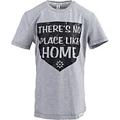 "RIP-IT Girls' ""No Place Like Home"" Graphic Softball T-Shirt"
