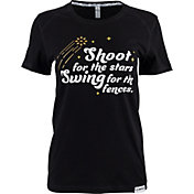 "RIP-IT Women's ""Shoot for the Stars"" Graphic Softball T-Shirt"