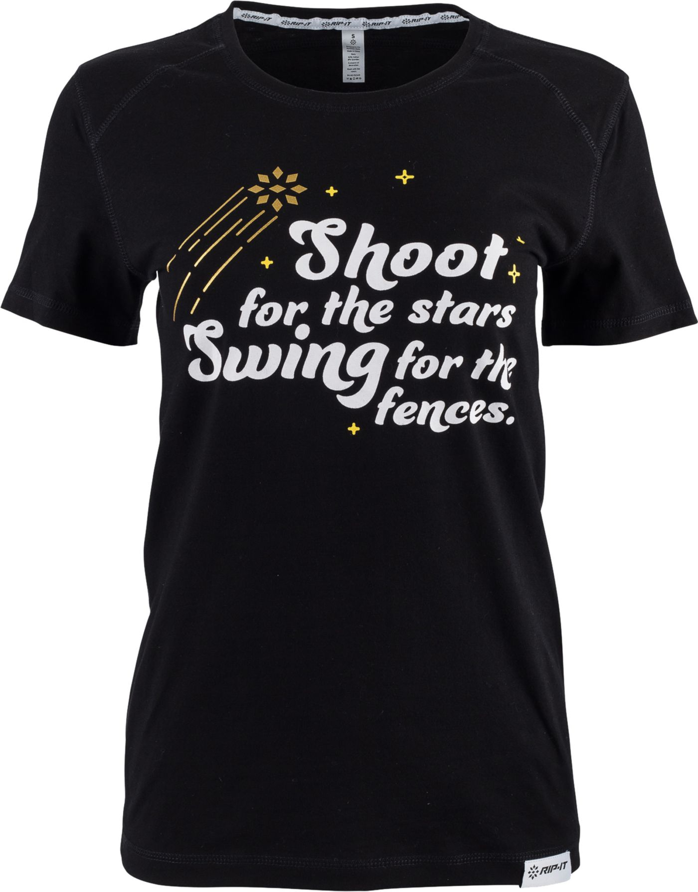 "RIP-IT Women's ""Shoot for the Stars"" Graphic Softball T-Shirt"