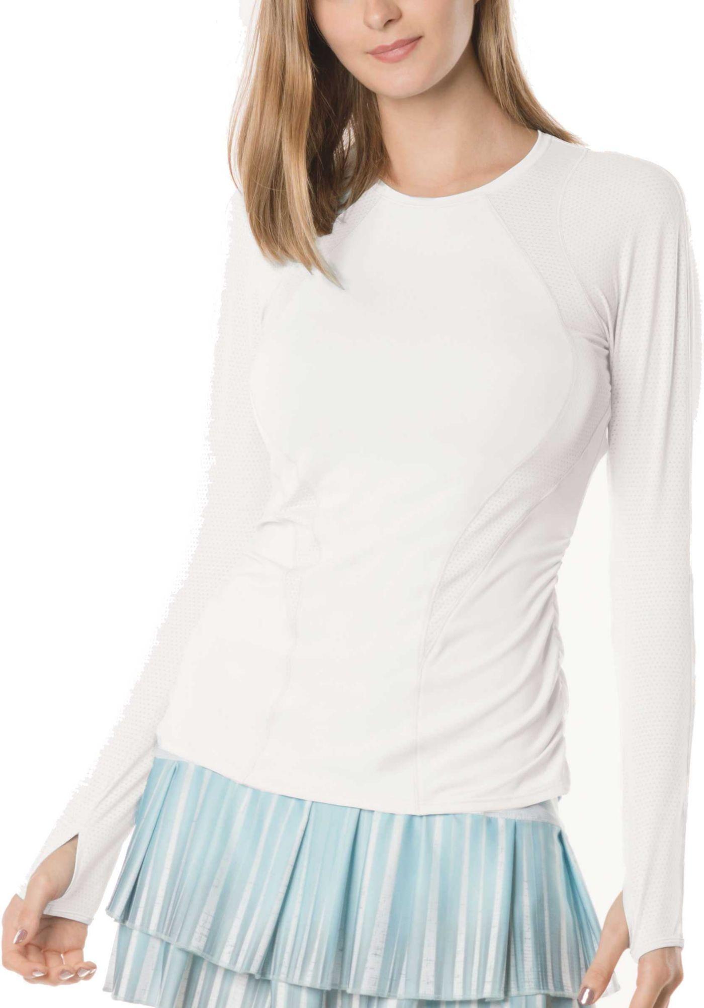 Lucky In Love Women's Contour Long Sleeve Tennis Shirt