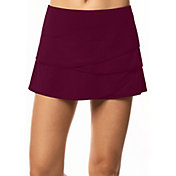 Lucky In Love Women's Scallop Tennis Skirt