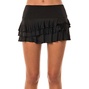 Lucky In Love Women's Shadow Stripe Rally Tennis Skirt