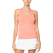 Lucky In Love Women's V-Neck Tennis Tank Top