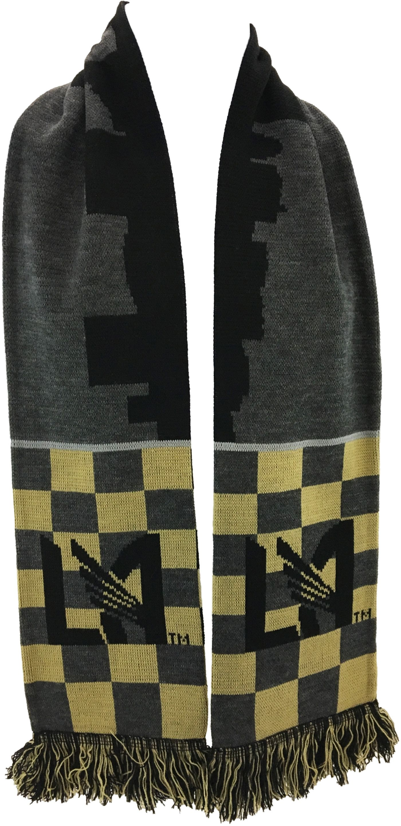Ruffneck Scarves Los Angeles FC Checkered Scarf