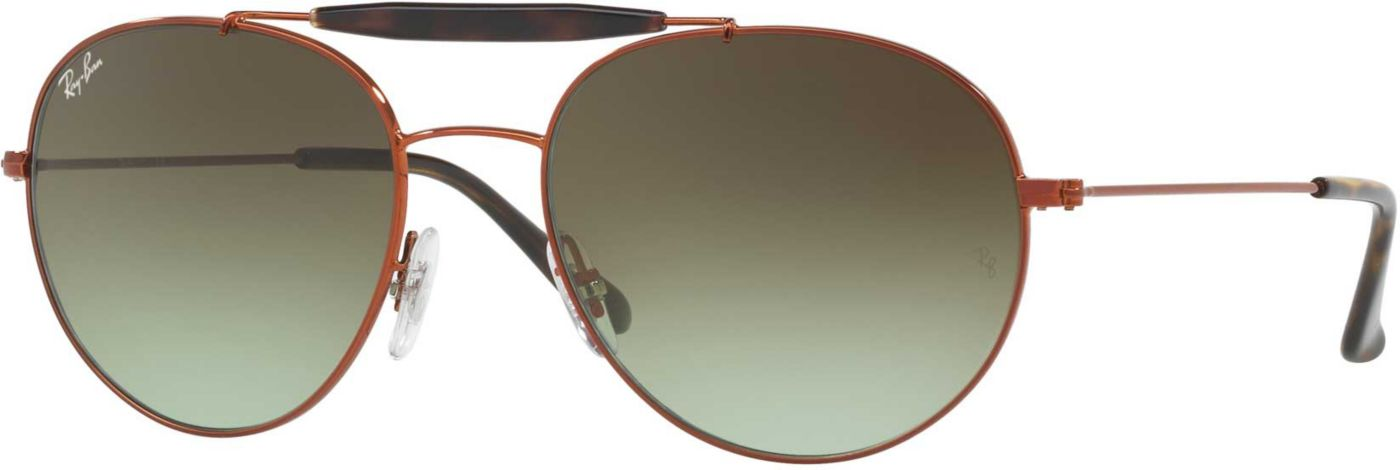Ray-Ban Men's Double Bridge Gradient Sunglasses