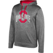 Scarlet & Gray Men's Ohio State Buckeyes Gray Foundation Hoodie