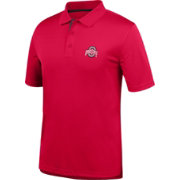 Scarlet & Gray Men's Ohio State Buckeyes Scarlet Interlock Polo