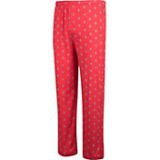Scarlet & Gray Men's Ohio State Buckeyes Scarlet Z Lounge Pants