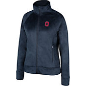 Scarlet & Gray Women's Ohio State Buckeyes Bunny Slope Black Jacket