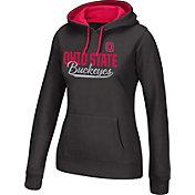 Product Image · Scarlet   Gray Women s Ohio State Buckeyes Essential Black  Hoodie f8aa767edd