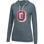 Scarlet & Gray Women's Ohio State Buckeyes Gray Lake-Side Hoodie