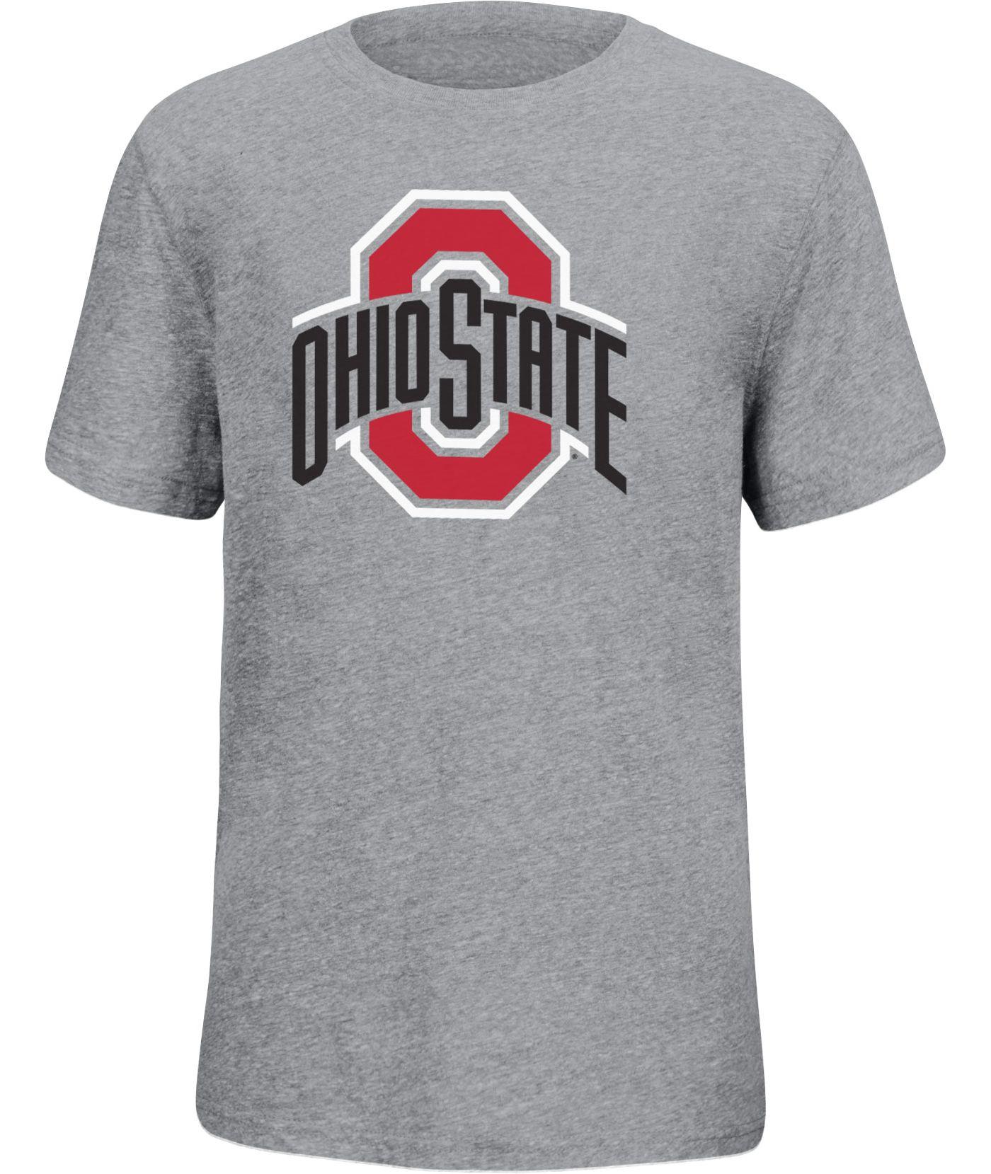 Scarlet & Gray Youth Ohio State Buckeyes Gray Staple T-Shirt