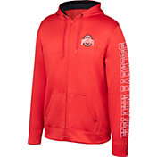 Scarlet & Gray Youth Ohio State Buckeyes Scarlet Foundation Full-Zip Promo Hoodie
