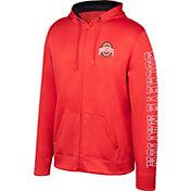 Scarlet & Gray Youth Ohio State Buckeyes Scarlet Foundation Full-Zip Promo Hoodie