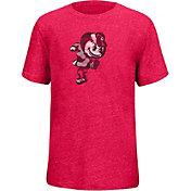 Scarlet & Gray Youth Ohio State Buckeyes Scarlet Staple T-Shirt