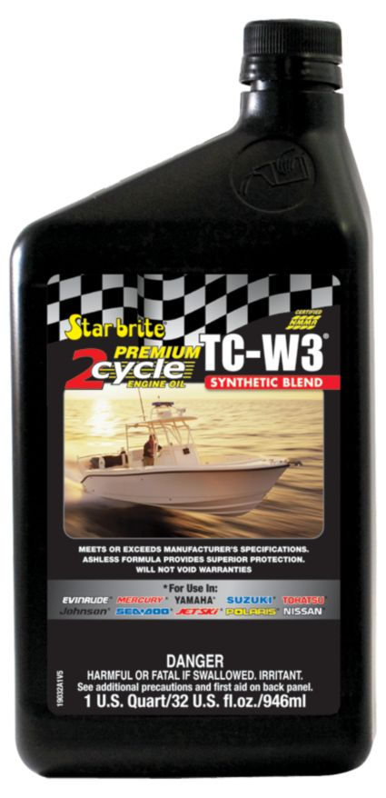 Star brite Premium 2-Cycle TC-W3 Engine Oil – 32 oz.
