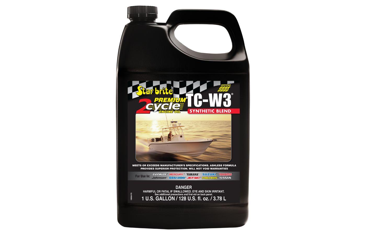 Star brite Premium 2-Cycle TC-W3 Engine Oil – 1 Gallon