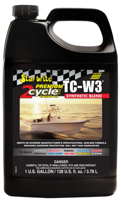 Star brite Premium 2-Cycle TC-W3 Engine Oil – 1 Gallon