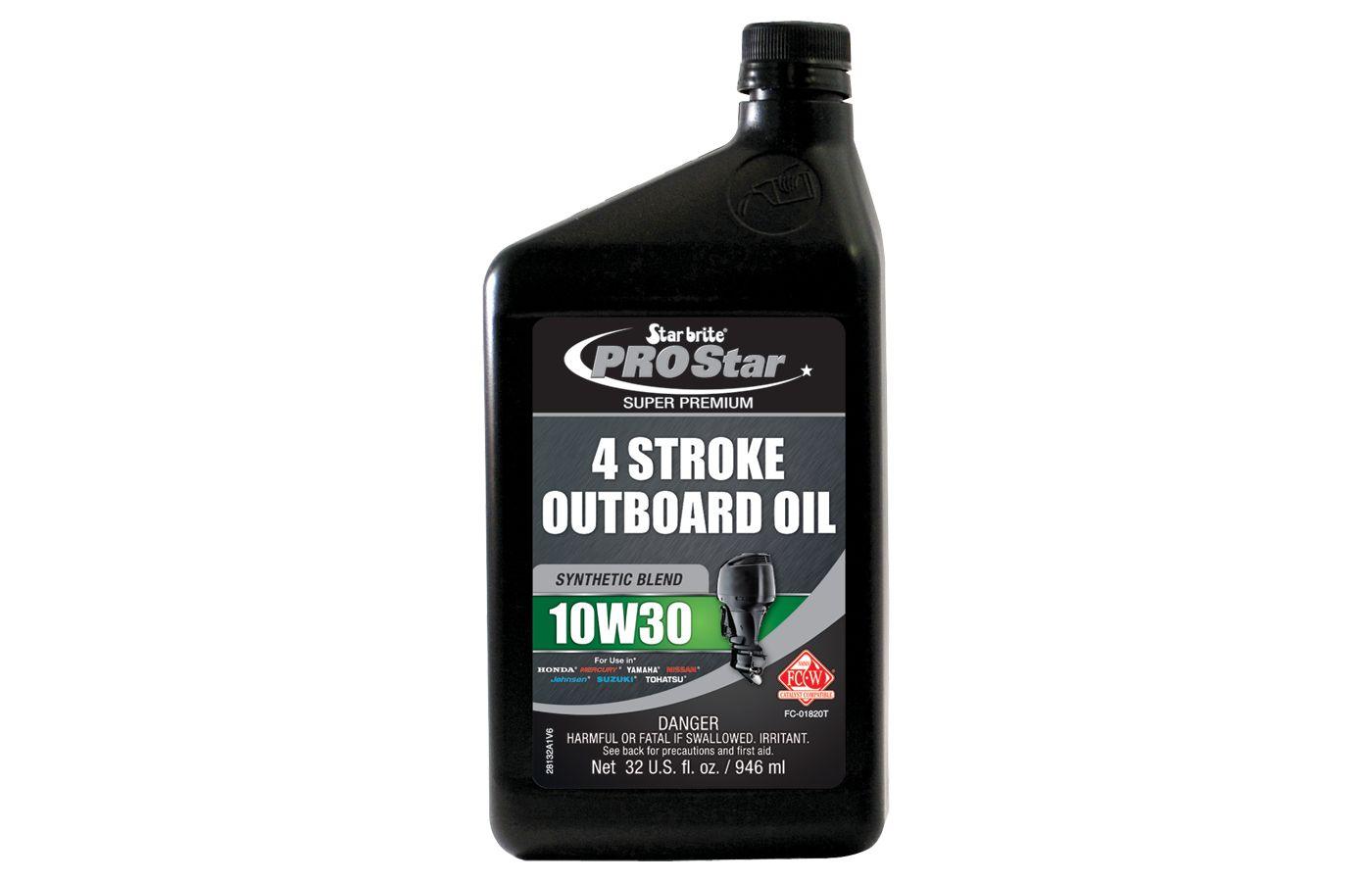 Star brite Premium Synthetic Blend 4 Stroke Oil – 32 oz.
