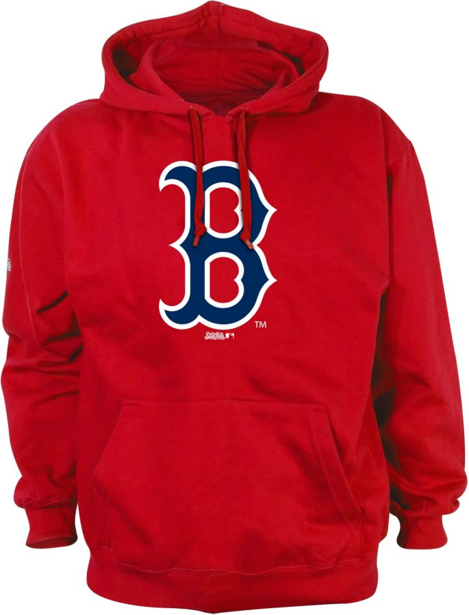 official photos c6e89 91f6b Stitches Men's Boston Red Sox Pullover Hoodie