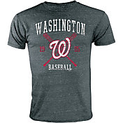 Stitches Youth Washington Nationals Black T-Shirt