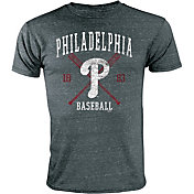 Stitches Youth Philadelphia Phillies Black T-Shirt