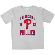 Stitches Youth Philadelphia Phillies Grey T-Shirt