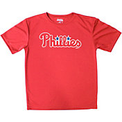 Stitches Youth Philadelphia Phillies Maroon T-Shirt