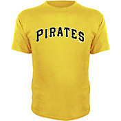 Stitches Youth Pittsburgh Pirates Gold T-Shirt