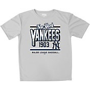 Stitches Youth New York Yankees Grey T-Shirt