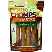 Pork Chomps Premium Roasted Dog Treats