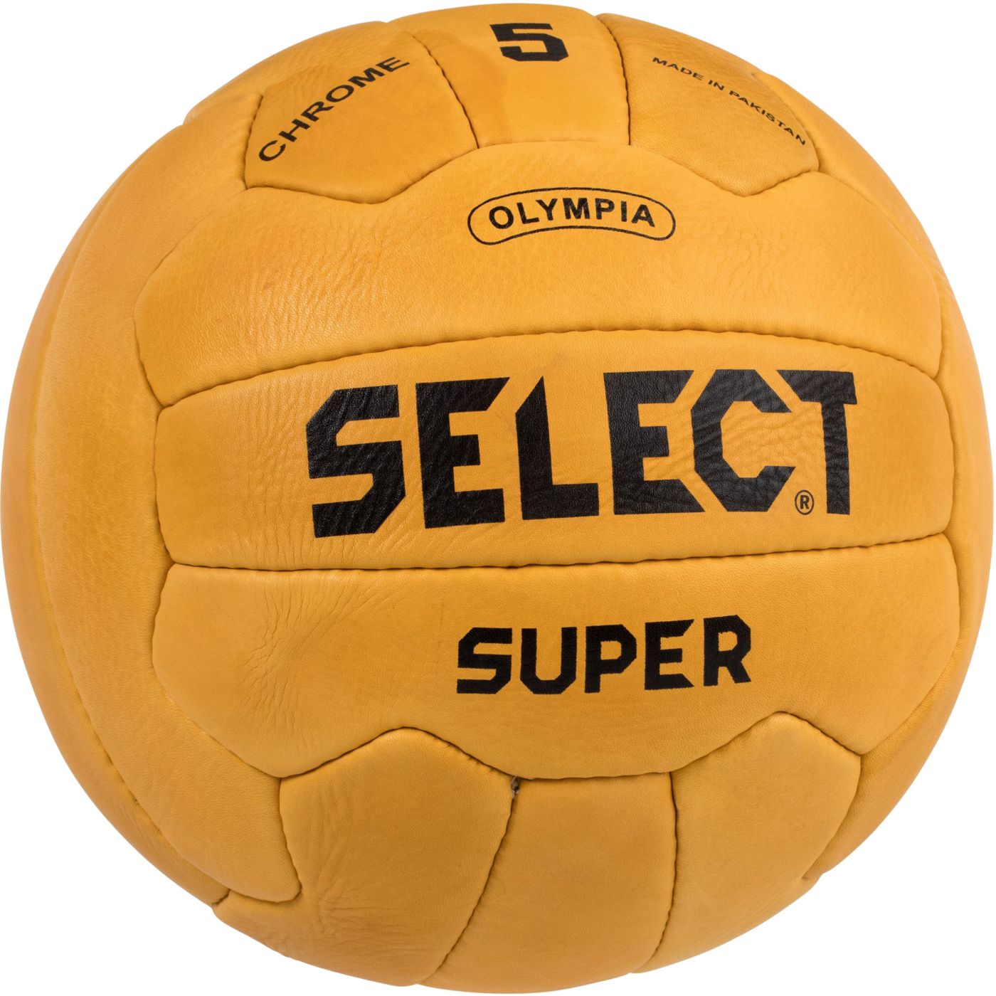 Select Super 1950 Leather Soccer Ball