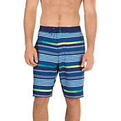 Speedo Men's Ingrain Stripe E-Board Swim Shorts