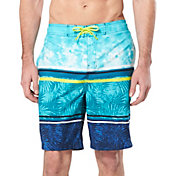 Speedo Men's Washed Stripe Board Shorts