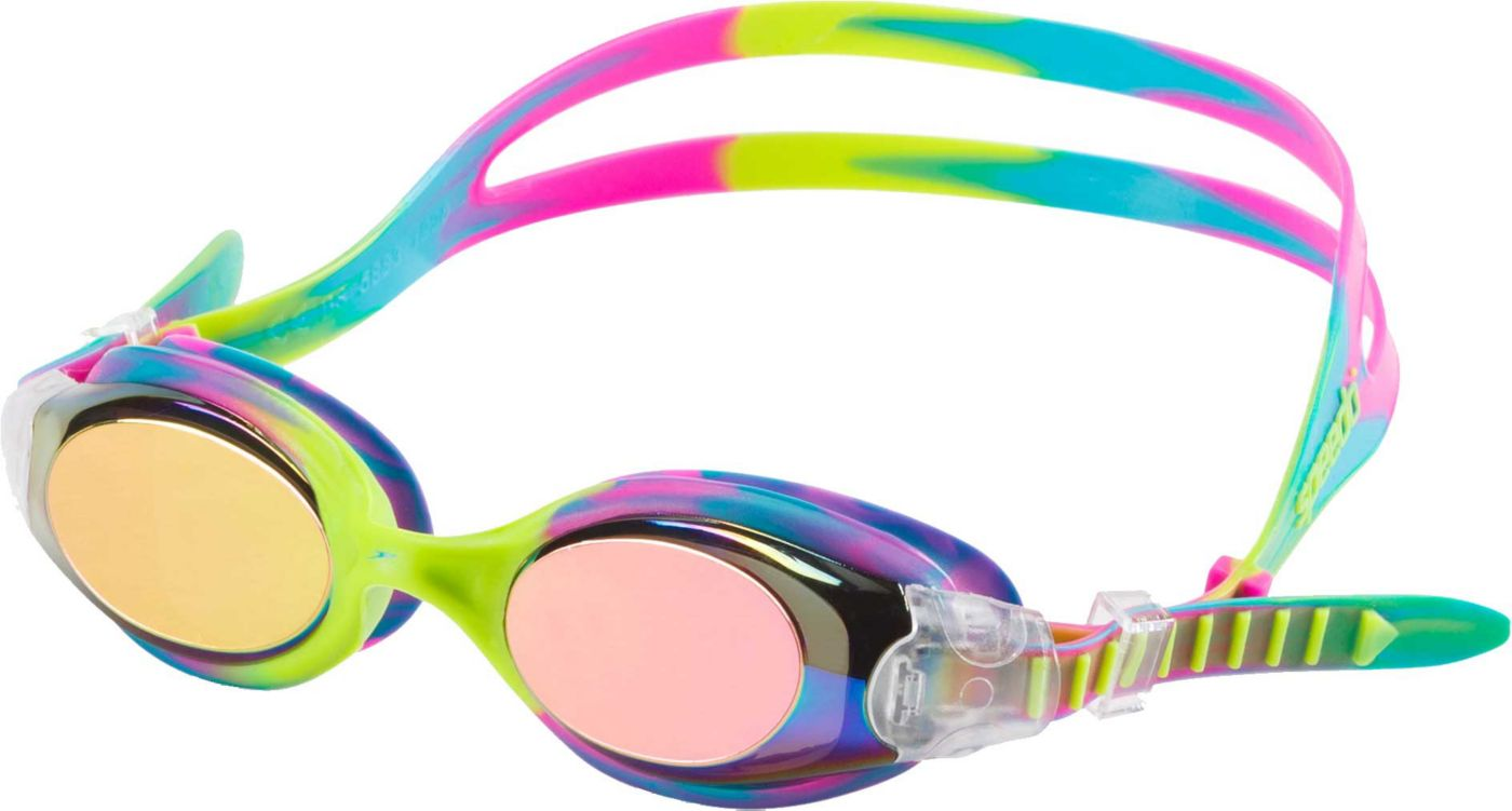 Speedo Hydrosity Tie Dye Mirrored Goggles